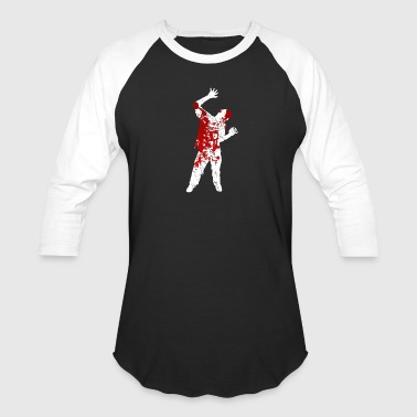 Undead Bloody Zombie - Undead Halloween Blood Monster - Baseball T-Shirt