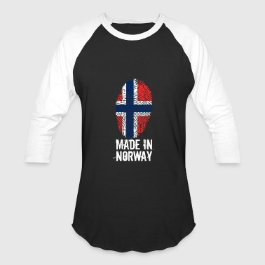 Norway Flag Norge Made In Norway / Norge / Noreg - Baseball T-Shirt