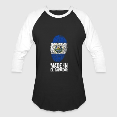 Made In El Salvador - Baseball T-Shirt