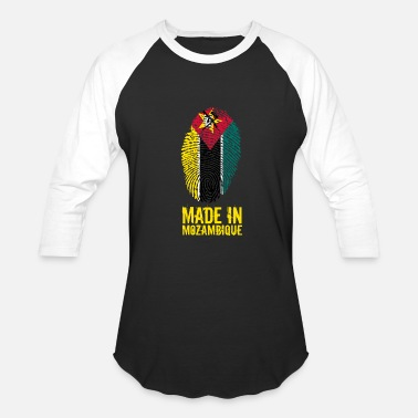 Mozambique Made In Mozambique - Baseball T-Shirt