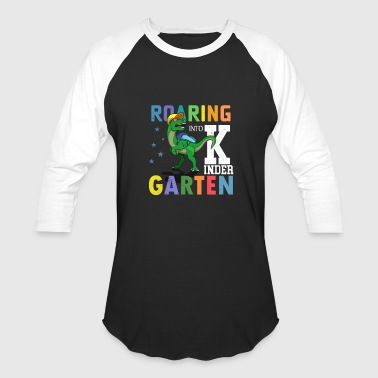 Roaring Into Kinder - Baseball T-Shirt