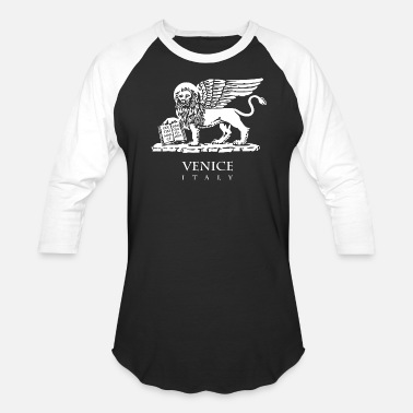 Venice Beach The Lion of Venice - Baseball T-Shirt