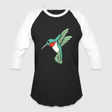 Hummingbird - dicky ticker hummingbird - Baseball T-Shirt