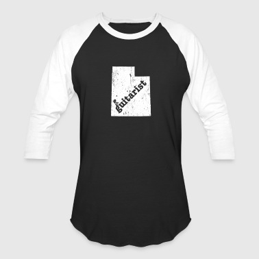 Utah Blues Guitar Shirt Utah T Shirt Lead Guitarist Shirt - Baseball T-Shirt