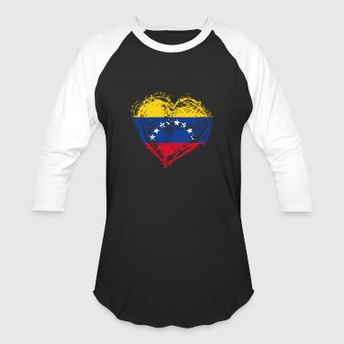 HOME ROOTS COUNTRY GIFT LOVE Venezuela - Baseball T-Shirt