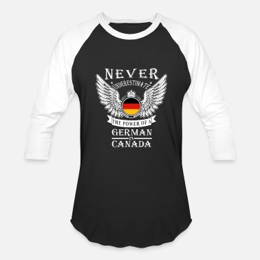 Federal Republic Of Germany German - THe power of an German in canada - Baseball T-Shirt