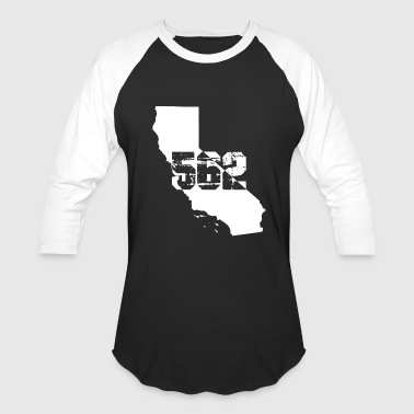 Long beach california 562 area code - Baseball T-Shirt
