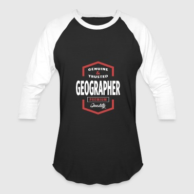 Geographer - Baseball T-Shirt
