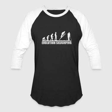 Adrenaline Jokes skijump ski jumping downhill - Baseball T-Shirt