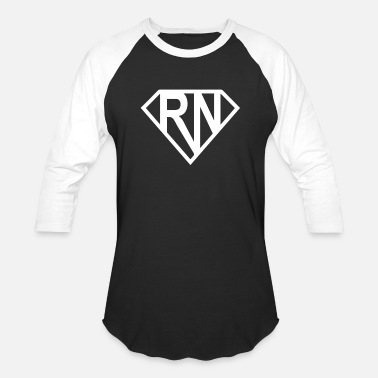 Super Super RN Super Nurse - Baseball T-Shirt