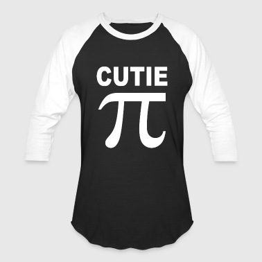 Sex Math CUTIE PI T SHIRT MEDIUM funny nerdy geeky math sex - Baseball T-Shirt
