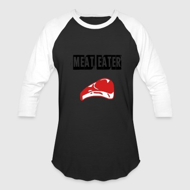meat eater - Baseball T-Shirt