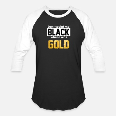 Rarity Gold Golden Black Especially Rarity Gift - Baseball T-Shirt