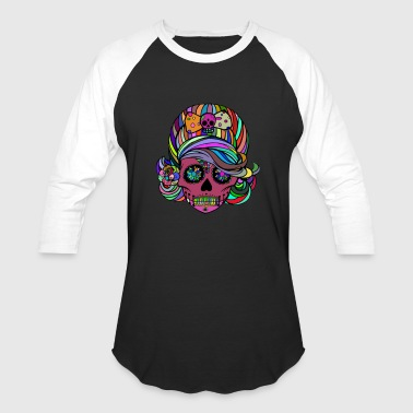 Skullette - Baseball T-Shirt