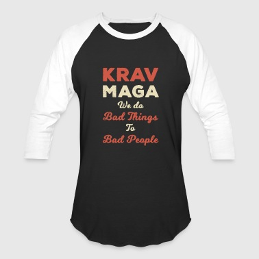 Krav Maga Krav Maga Self Defense MMA Fighting Sports - Baseball T-Shirt
