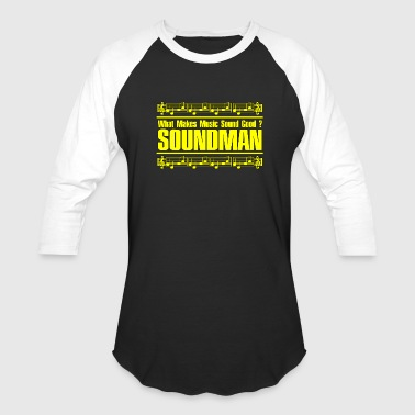 good soundman yellow - Baseball T-Shirt