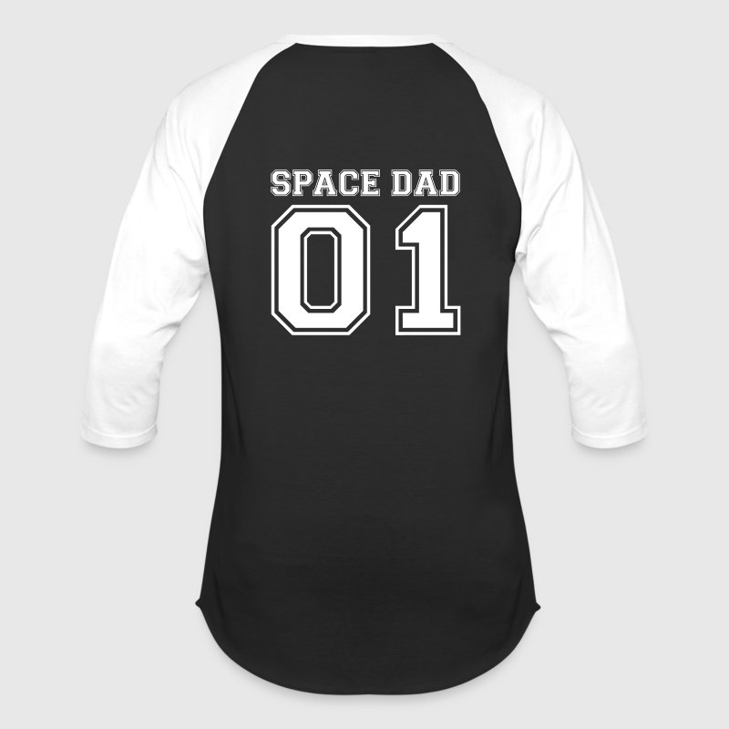 Space dad - Baseball T-Shirt