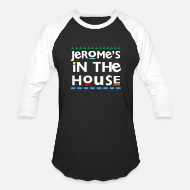 Martin Tv Show Jerome's In the House - Baseball T-Shirt