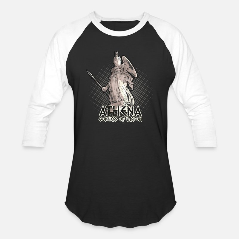 Athena Goddess Of Wisdom Greek Mythology TShirt Unisex Baseball T