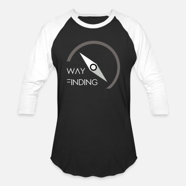Find Way Way finding - Baseball T-Shirt