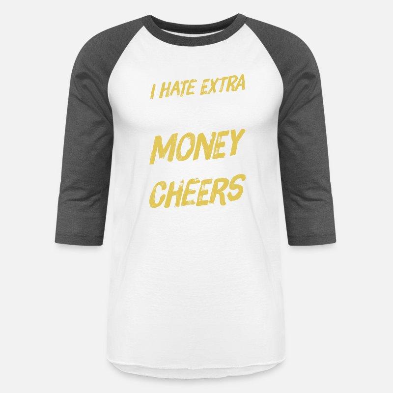 14a7840e0ba766 Funny Dad Parent of Cheerleader Cheer Team Gift Unisex Baseball T-Shirt