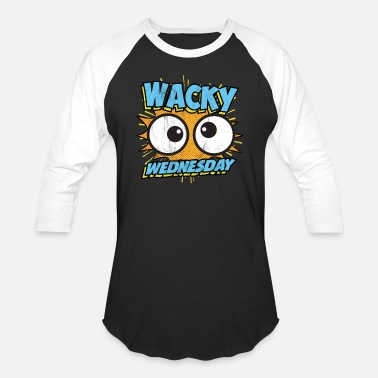 88f2373df6fb Wacky Wednesday Googly Eyes Silly Tshirt Comic Men's Premium ...