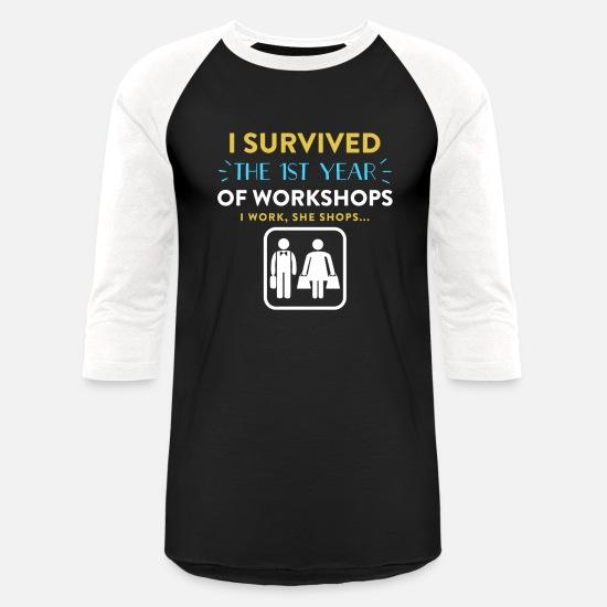 1st Year Wedding Anniversary Gift Ideas For Him Unisex Baseball T Shirt Spreadshirt