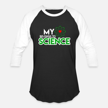 New Heart Heart Science Love - Unisex Baseball T-Shirt
