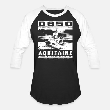 French Navy Frigate Aquitaine - Baseball T-Shirt