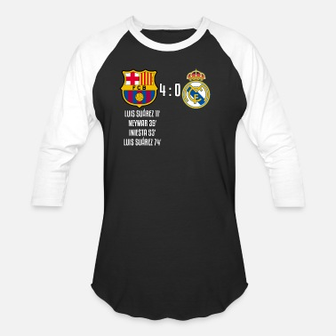 Real Madrid Fc FC Barcelona 4-0 Real Madrid - Baseball T-Shirt