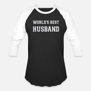 Worlds Best Husband World's Best Husband - Baseball T-Shirt