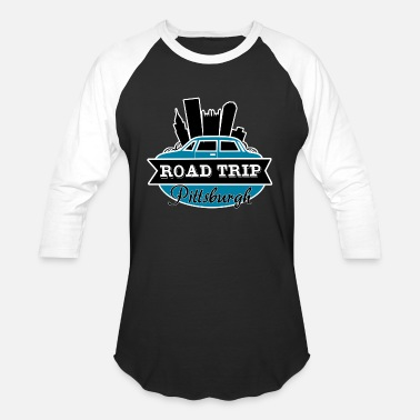 road trip - Unisex Baseball T-Shirt