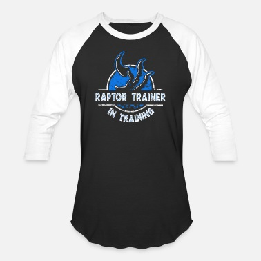 Raptor Raptor trainer - In training T-shirt - Unisex Baseball T-Shirt