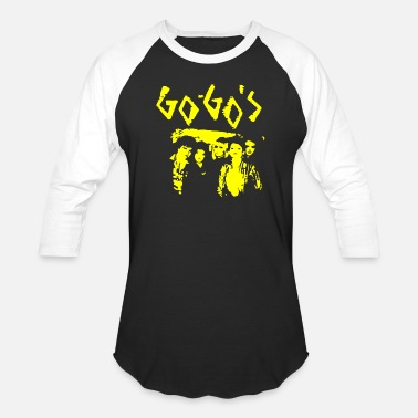 Go For It The Go Gos - Unisex Baseball T-Shirt