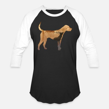 Hunting Dog The dog and the hunt - Unisex Baseball T-Shirt