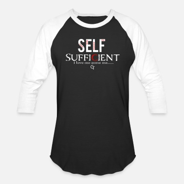 Sufficient self sufficient - Baseball T-Shirt