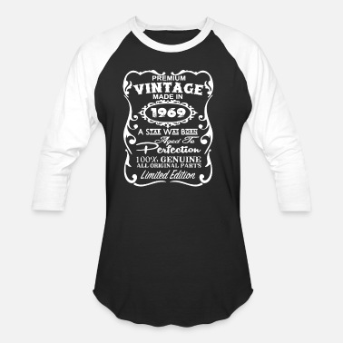 Year Of Legends 1969 YEAR OF PERFECTION AND LEGEND - Baseball T-Shirt