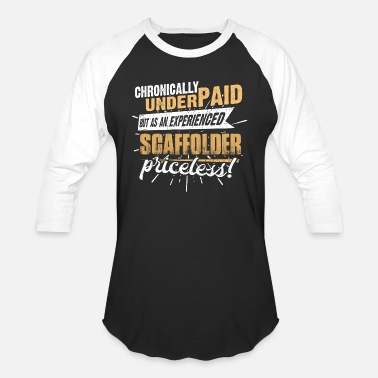 Scaffold Shirts for Men, Job Shirt Scaffolder - Unisex Baseball T-Shirt