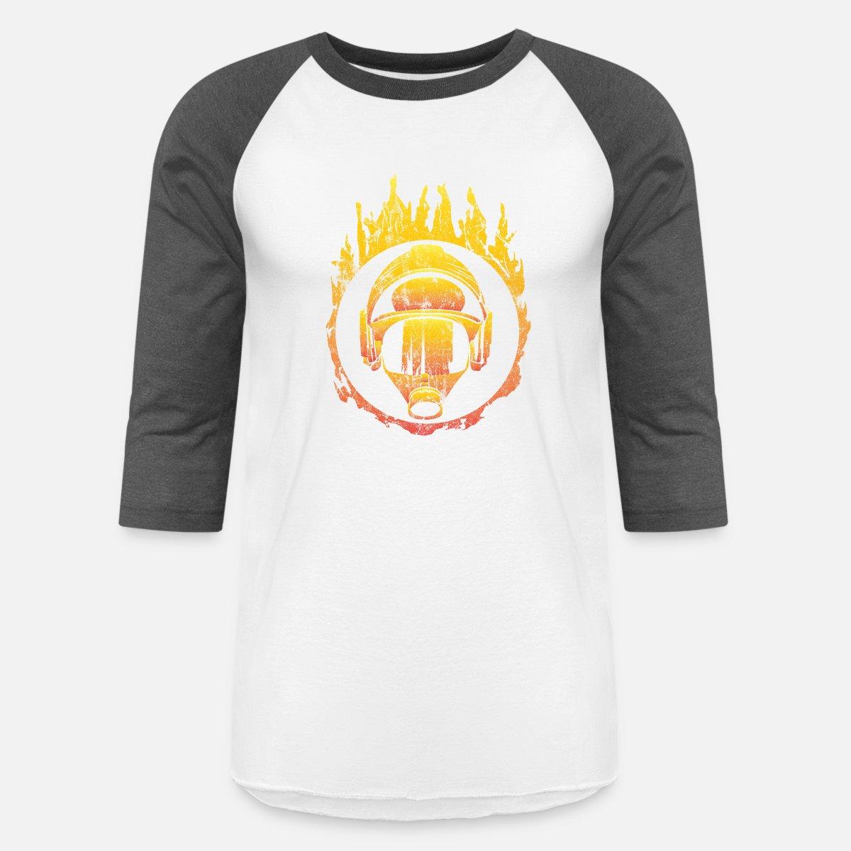 089d6864 Fire Department Firefighter Gift Idea Unisex Baseball T-Shirt | Spreadshirt