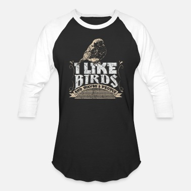 Bird Pet Bird Pet Gift - Unisex Baseball T-Shirt