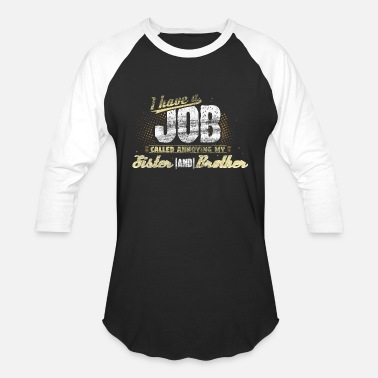 Having A Baby Sibling gift idea - Unisex Baseball T-Shirt