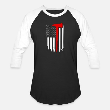 thinredline1 - Unisex Baseball T-Shirt