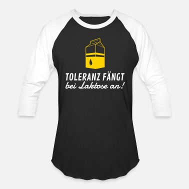 Hypochondriacs Tolerance Begins With Lactose! - Baseball T-Shirt