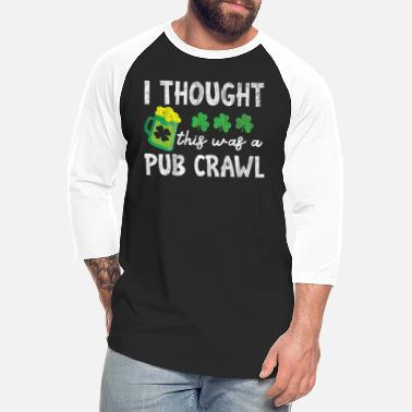 Long Sleeve Sweatshirt Apparel Gift Mustache Beer Shirt T-Shirt Patrick/'s Day Outfit Hoodie Funny Pub Crawl St