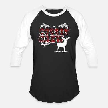Cousins Cousin Crew Plaid Christmas - Baseball T-Shirt