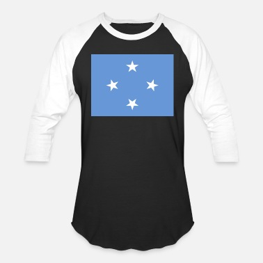 Federal State Federal States of Micronesia Flag - Baseball T-Shirt