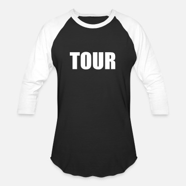 Touring TOUR - Unisex Baseball T-Shirt