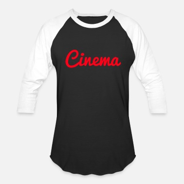 Cinema CINEMA - Unisex Baseball T-Shirt