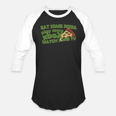 Mystic Pizza Pizza - Eat Some Pizza - Baseball T-Shirt