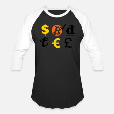 Currency currencies - Unisex Baseball T-Shirt